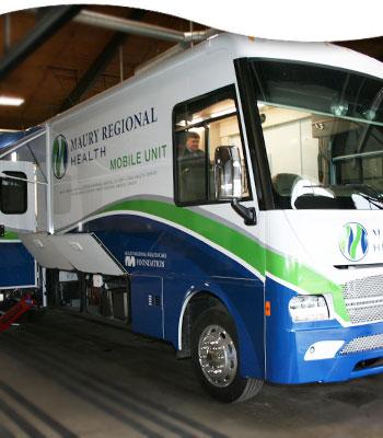 Maury Regional Health Mobile Medical Unit unveiled - News Story