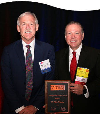 CEO Alan Watson receives top award presented by THA - News Story